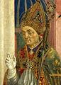 Domenico Veneziano - Pala di Santa Lucia dei Magnoli - Google Art Project - St Zenobius.jpg