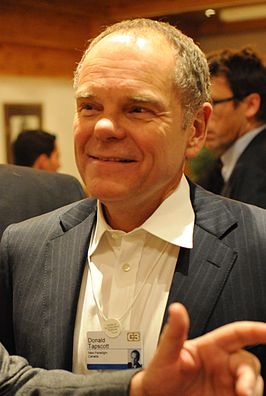 Don Tapscott op het World Economic Forum 2008 in Davos