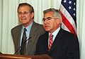 Donald Rumsfeld & Mario Fernández Baeza, 2001.jpg
