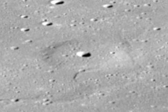 Lunar dome - Image: Donna crater Omega Cauchy as 08 13 2344hr