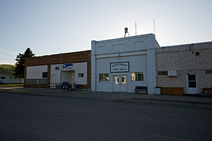 Donnybrook, North Dakota - The post office and city hall