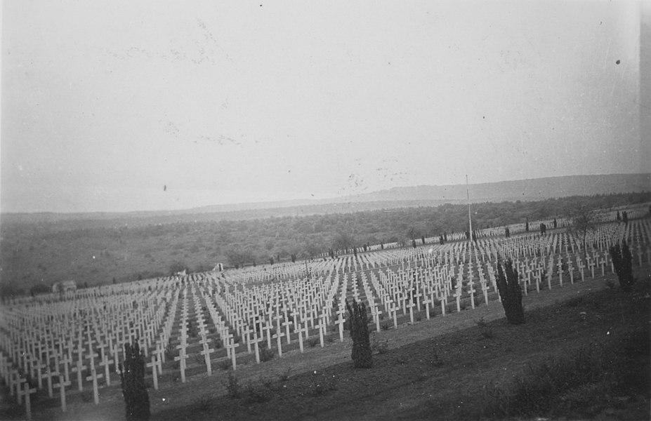 Douaumont graveyard in June 1940.