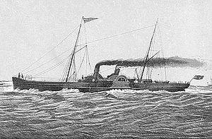 SS Douglas (1864) - Sketch of Douglas.