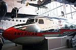 Douglas DC-7 forward fuselage - Smithsonian Air and Space Museum - 2012-05-15 (7276905170).jpg