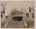 Dr Bell and group in front of the Bell memorial (HS85-10-33599) original.tif