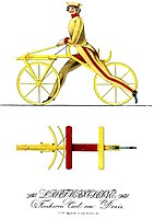Draisine (Laufmaschine)#Kinderlaufrad