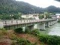 Dravograd, old bridge over the Drava, from left bank.jpg
