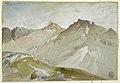 Drawing, The Upper End of Little Cottonwood Canyon, Wasatch Range, near Ogden, Utah, August 13, 1879 (CH 18189927-2).jpg