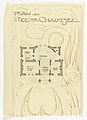 Drawing, Villa of M. Hemsy, St. Cloud, Plan du Rez de Chaussee, 1913 (CH 18384897).jpg
