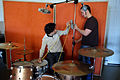 Drum mic setting in progress, Guy and Florian, LowSwing studio, Berlin, 2011-01-22 12 17 43.jpg