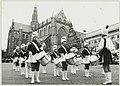 Drumband Jan Gijzen op de Grote Markt. NL-HlmNHA 54005711.JPG