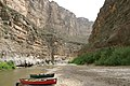 Dry Santa Elena Canyon in Summer - panoramio.jpg