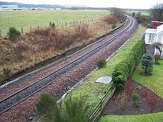 Drybridge railway station - Drybridge station in early 2006