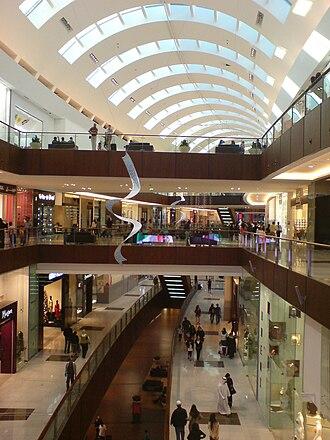 Downtown Dubai - Dubai Mall's interior