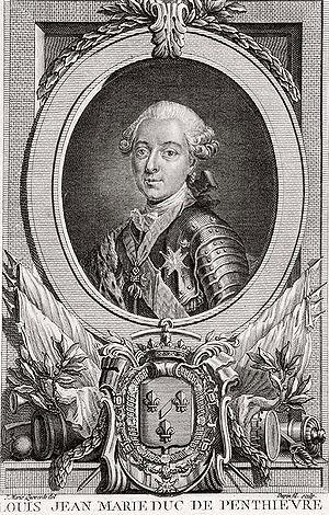 Hôtel de Toulouse - Image: Duc bourbon penthievre