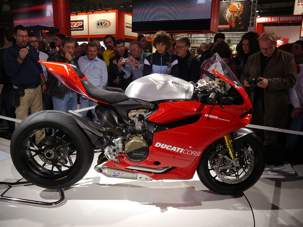 Engine Of Ducati Bike