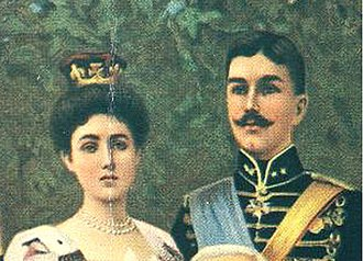 Duchy - The Duke and Duchess of Scania in 1905