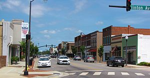 Dunn Commercial Historic District - Dunn Commercial Historic District, June 2014