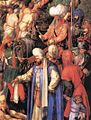 Durer, Martyrdom of the Ten Thousand 03.jpg