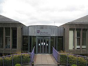 Durham University Business School - The main building of Durham University Business School on Mill Hill Lane