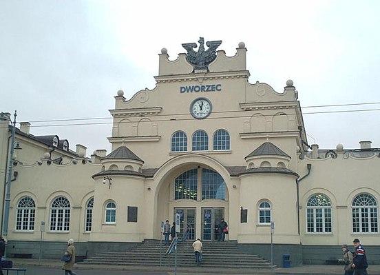 Lublin railway station