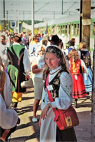 Kashubians - Kashubian regional dress