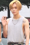 E'Dawn going to a Music Bank recording on July 22, 2018.png