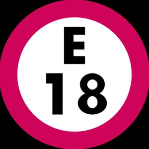 Tsukijishijō Station - Image: E 18