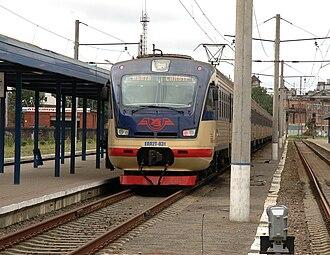 Luhanskteplovoz - Image: EPL2T 031 Lviv 1