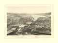 ETH-BIB-Zurich. Vue prise au dessus de la Gare du chemin de fer - Zurich. Vista tomada sobre el Embarcadero del camino de hierro.-Ans 03713-FL.tif