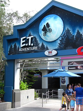E.T. Adventure - Image: ET Adventure facade 2