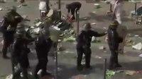 File:EURO 2016 street fights- English vs Russian Hooligans.webm