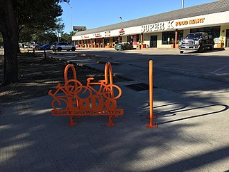 East Downtown Houston - EaDo sign