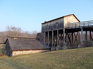 Curtin Village - Eagle Ironworks, Curtin Village, December 2012