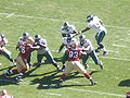 Eagles on offense at Philadelphia at SF 10-12-08 2.JPG