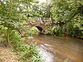 Eashing, the River Wey emerges from Eashing Bridge - geograph.org.uk - 1410498.jpg