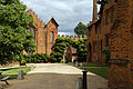 East from end of Fore Street towards Stable Yard Hatfield House Hertfordshire England.jpg