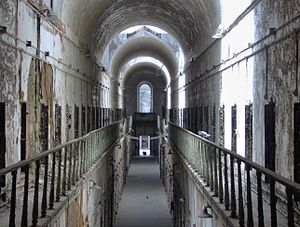 Arrested decay - Eastern State Penitentiary, May, 2006