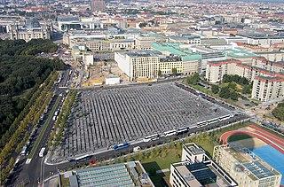 Ebertstraße street in Berlin, Germany