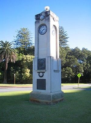 Tourist Drives in Western Australia - Image: Edith Dircksey Cowan Memorial 1