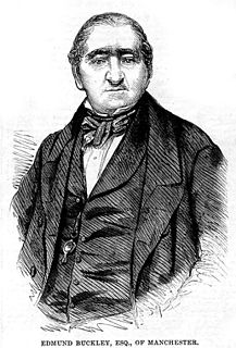 Edmund Buckley (born 1780) British politician