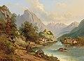Edmund Höd - View of Landeck, Pustertal.jpg