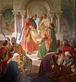Eduard Ihlée Ludwig der Heilige gründet das Hospital von Compiègne img02.jpg