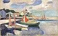 Edvard Munch - Sailboats in the Harbor.jpg