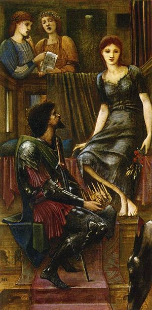 King Cophetua and the Beggar Maid (painting) - Image: Edward Burne Jones King Cophetua and the Beggar Maid 1883