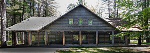 Crawford County, Michigan - Image: Edward E. Hartwick Memorial Building