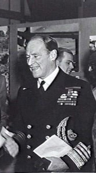 Edward Evans, 1st Baron Mountevans - Admiral Sir Edward Evans in 1944