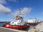 Egesund at Quay of Noblessner Shipyard Tallinn 3 September 2013.JPG