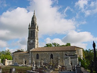Sainte-Eulalie, Gironde - Image: Eglise sainte eulalie