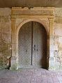 Eglise Saint-Pierre de Brocas (6) Portail du collatéral.jpg